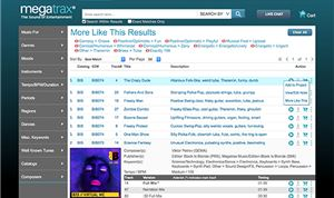 "Megatrax improves search functionality; releases ""Percussion For Commercials'"