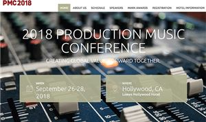 Production Music Conference set for Sept 26-28