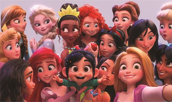 Animation: The princesses of <I>Ralph Breaks the Internet</I>