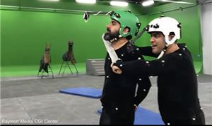 Raymon Media home to Iran's largest mocap volume