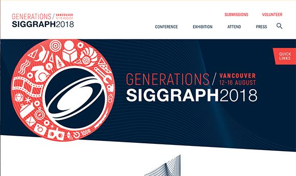 Registration open for SIGGRAPH 2018 in Vancouver