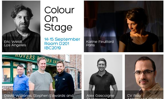 FilmLight to host 'Colour On Stage' seminar at IBC2019