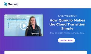 Qumulo to present 'Cloud Best Practices' Webinar