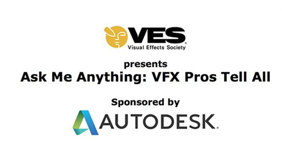 VES & Autodesk partner on 'Ask Me Anything' initiative