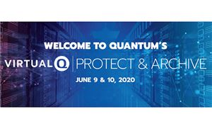 Quantum to host VirtualQ|Protect & Archive Webinars