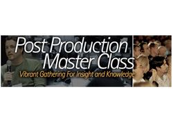 Createasphere to present 'Post Master Class'