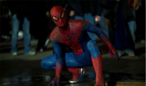 The Amazing Spider-Man's color and conform
