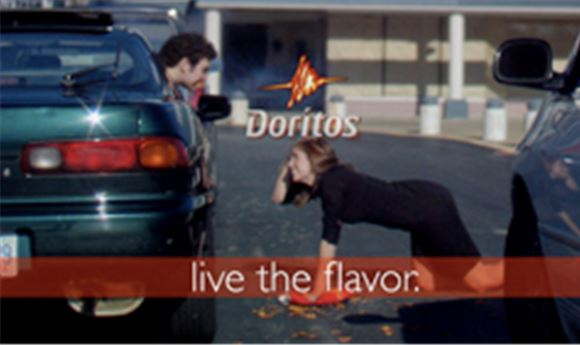 DORITOS' SUPER BOWL SPOT COMES FROM INDIE EFFORT