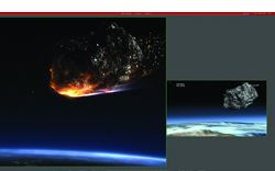 VISUAL EFFECTS: 'METEOR' TARGETS EARTH