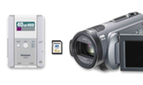 PANASONIC CLAIMS 'WORLD'S SMALLEST' PRO HD CAMCORDER