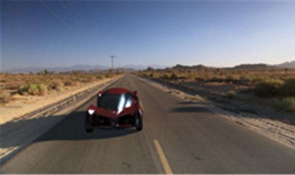 SERIOUS ROBOTS FINISHES DISCOVERYHD'S 'FUTURECAR'