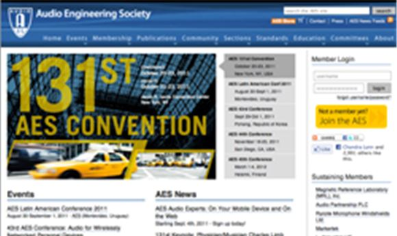 AES sessions to look at pro audio history