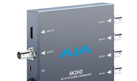 IBC 2013: AJA adds to mini converter line-up