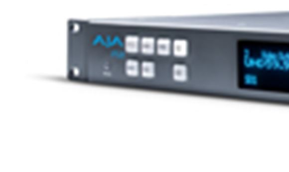 AJA launches FS3 4K upconverter