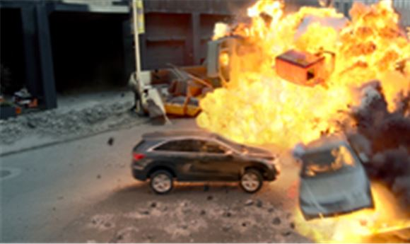 Acura teams with Avengers on new commercial