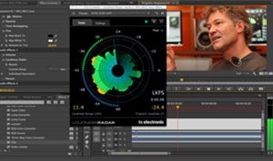 Adobe adds TC Electronic's LoudnessRadar to Premiere & Audition