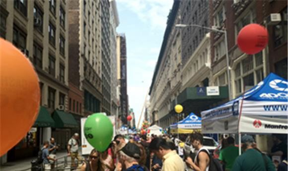 Adorama street fair to benefit cystic fibrosis