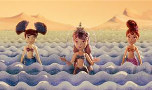 Athena Studios creates 'Mermaids on Mars' via stop-motion