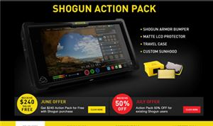 Atomos improves Shogun recorder, announces promotion