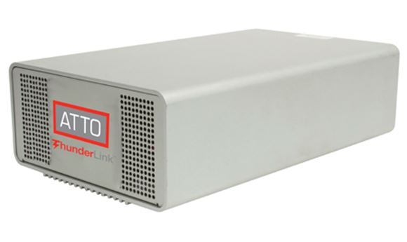 ATTO showcasing Thunderbolt-enabled solutions