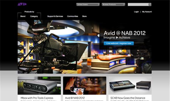 Avid hosting NAB Webcasts