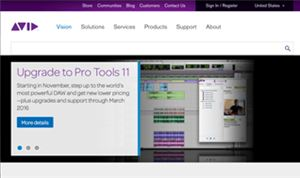 Avid promo extends Pro Tools coverage