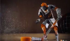 Bent employs stop-motion for Gatorade