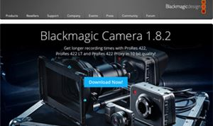 Blackmagic Camera update adds support for 3 ProRes formats