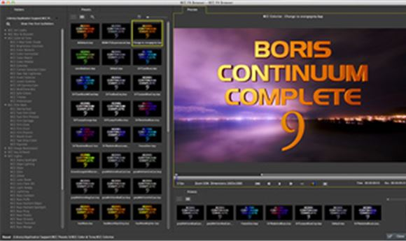 NAB 2014: Boris FX's BCC 9 includes 200+ filters