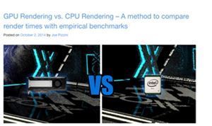 White Paper: GPU vs. CPU rendering