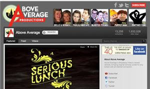 Broadway Video launches 'Above Average' YouTube network