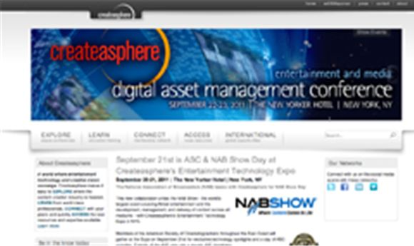 Createasphere partnering with NAB at NY event