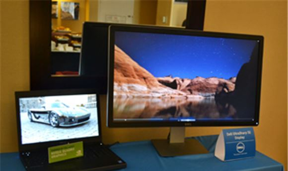 SIGGRAPH 2013: Dell previews new mobile workstation & 4K display
