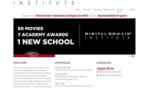 Digital Domain Institute begins inaugural classes
