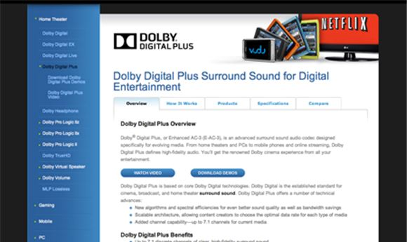 Dolby improves on Enhanced AC-3 format