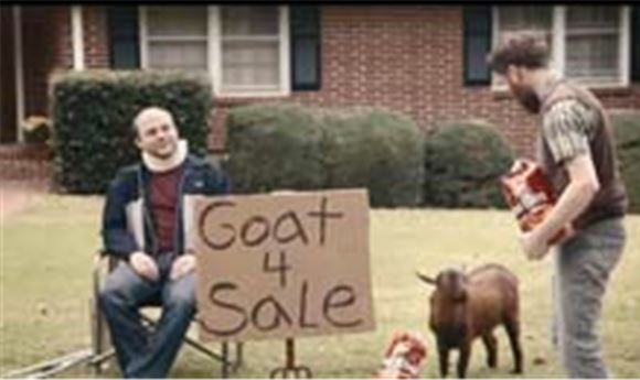SUPER BOWL: Doritos' 'Goat 4 Sale'