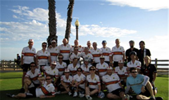 Charity ride supports Leukemia & Lymphoma research