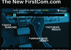Firstcom's new site simplifies music searches
