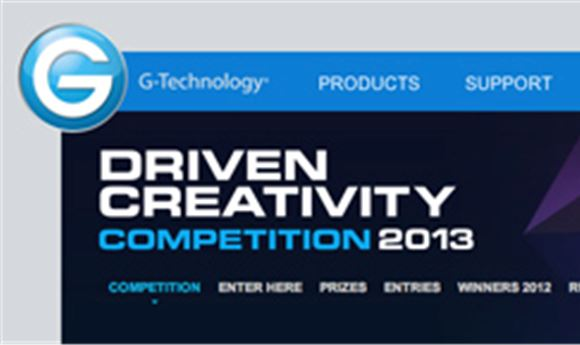 G-Tech announces 'Driven Creativity' Competition