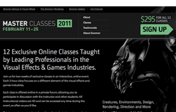Gnomon holding online Master Classes