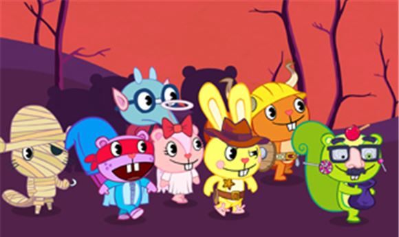 Web series 'Happy Tree Friends' sees DVD release