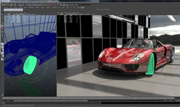 Imagination shows Caustic Visualizer plug-in for Maya