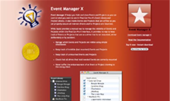 Event Manager X simplifies FCP X workflows