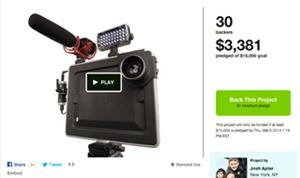 Padcaster hopes to turn iPad mini into production tool