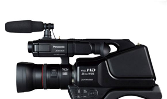 Panasonic delivers new AVCCAM camcorder