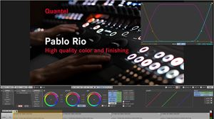 NAB 2013: Quantel employs AJA technology in 4K Pablo Rio