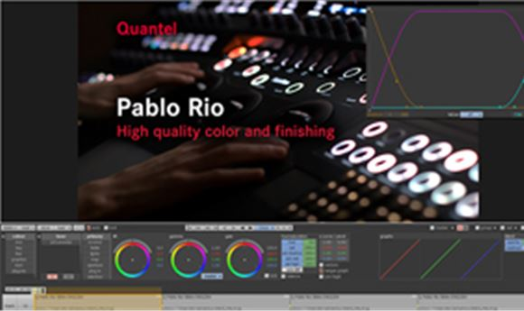 NAB 2014: Quantel improves Pablo Rio, introduces 'GE2'