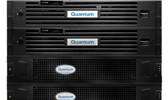 Quantum showcases StorNext 5 workflow storage platform
