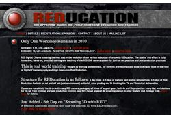 REDucation event offers production & post training