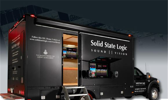 SSL brings demo truck to NAB